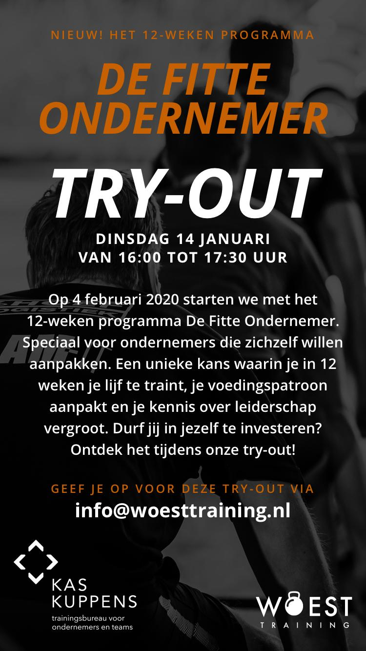 Try Out Fitte Ondernemer